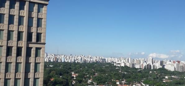 Sexta-feira de ar seco em São Paulo