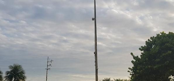 Ciclone extratropical provoca muita chuva e ventania em SC