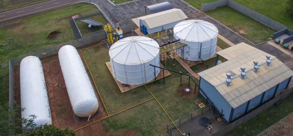 Biogás: opção renovável para produção de energia