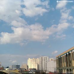 Ar polar derruba a temperatura em São Paulo