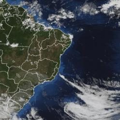 Ciclone extratropical se afasta do BR