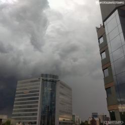 Porto Alegre registra tarde mais fria deste ano