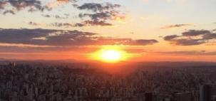 Belo Horizonte fica mais seca e quente nos próximos dias