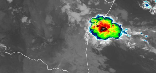 Fortes áreas de instabilidade no PR, MS, Norte do BR e BA