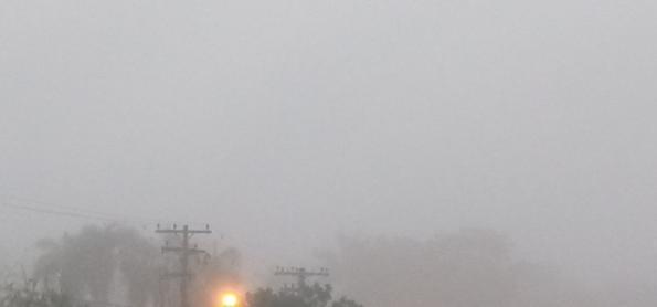 Nevoeiro, névoa úmida e névoa seca