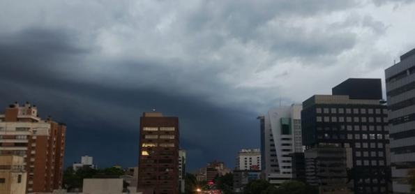 Alerta de chuva forte no Sul do Brasil
