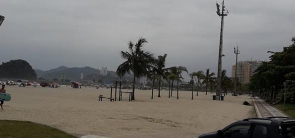 Chuva persiste no litoral paulista e há risco de deslizamento