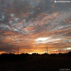 Ventania e aumento de nuvens em Mato Grosso do Sul