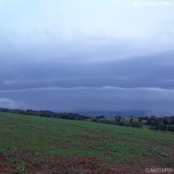 Frio à vista e risco de ventania no Sul do Brasil