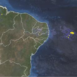 Chuva volta a aumentar no litoral do Nordeste