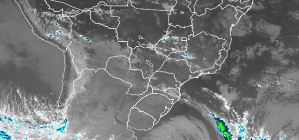 Ciclone extratropical provoca ventania e se afasta do Uruguai