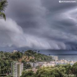 Muita chuva em Salvador e em Aracaju nesta quinta