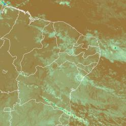 Atenção para aumento da chuva na costa leste do Nordeste