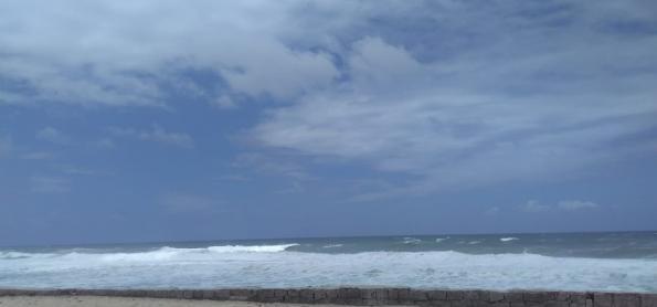 Mar agitado nesta semana