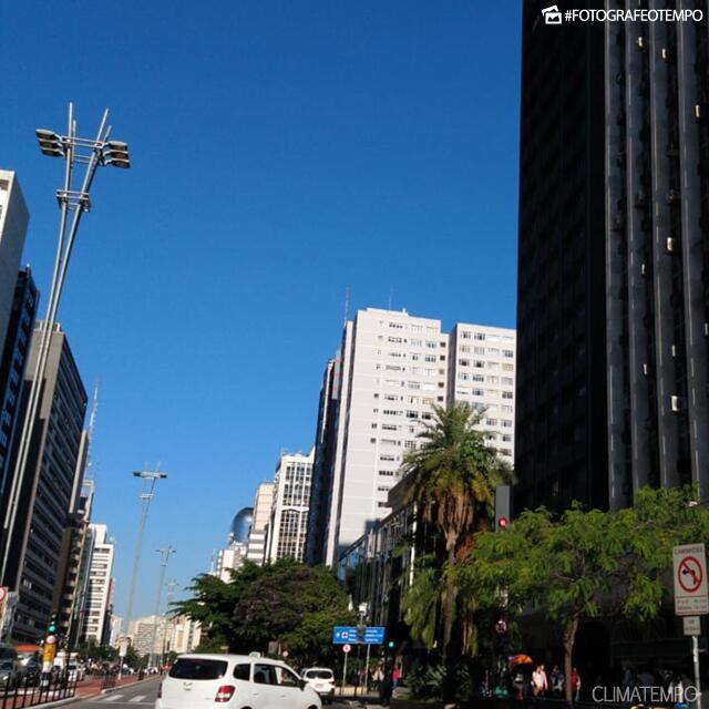 909c02bae28b O recorde atual de menor temperatura em São Paulo em 2019 é de 11,1°C, em 9  de junho. A menor temperatura máxima, por enquanto , é de 17,8°C, em 4 de  junho.
