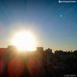 Quarta de sol e calor intenso no Sul do Brasil