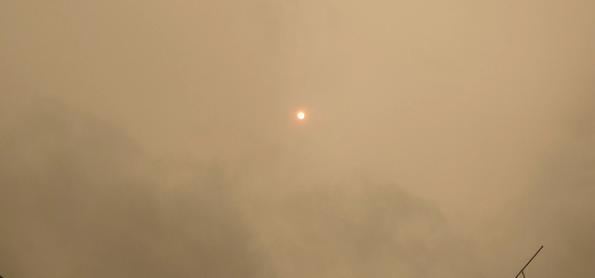 Pesquisadores descrevem trajetória do rio de fumaça em SP