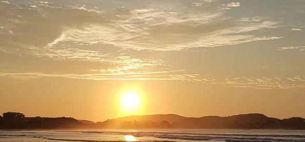 Sol e tempo firme na Região Sudeste