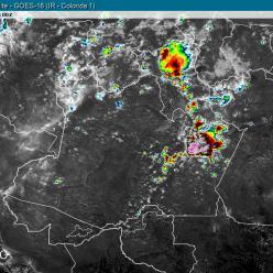 Condições para chuva aumentam em MT e MS nesta quinta