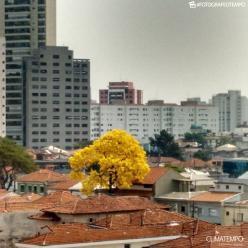 Áreas de chuva avançam para a Grande São Paulo