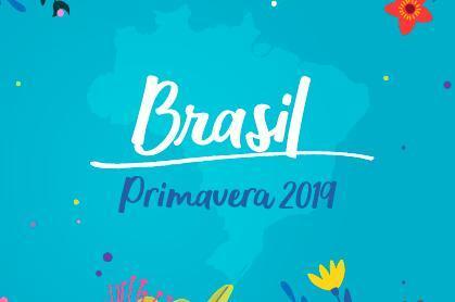 Como será a primavera 2019 no Brasil?