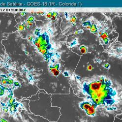 Chove forte na Região Norte do Brasil