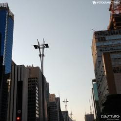 Outubro está sendo quente e seco em São Paulo