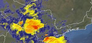 Áreas de instabilidade provocam chuva em SP