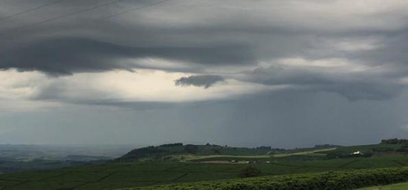 Previsão de chuva para todas as regiões de Minas Gerais