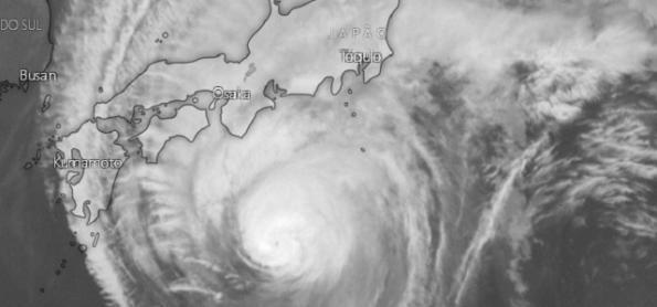 Hagibis: o tufão que mudou o cronograma do GP de F1 no Japão.