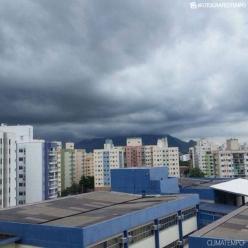 Chuva pode ser forte no ES nesta quarta-feira