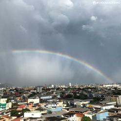 Risco de chuva forte sobre o Espírito Santo nesta quarta-feira