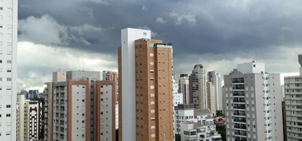 Terça-feira instável no leste de São Paulo