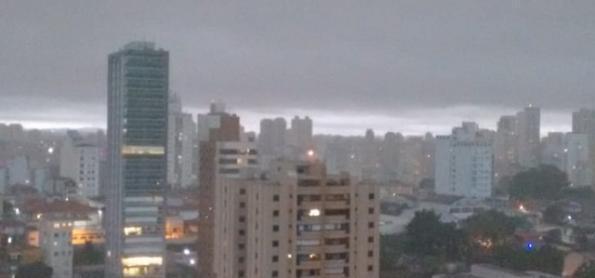 Fortes pancadas de chuva no estado de SP