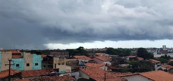 Risco de temporais no Maranhão