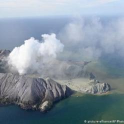 Erupção de vulcão deixa mortos na Nova Zelândia