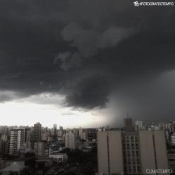 Risco de chuva forte e ventania no Sul do Brasil