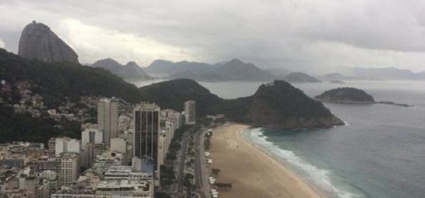 Chuva enfraquece no Rio de Janeiro