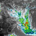 Tempestade subtropical Kurumí se forma no Atlântico Sul