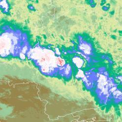 Ainda chove fortesobre a Grande BH em parte do sábado