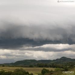 Risco de temporais no Sul do Brasil