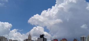Quarta-feira quente e com pancadas de chuva em SP