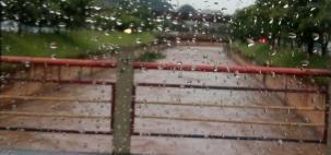 Chuva não dá trégua sobre Minas Gerais.