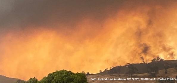 Incêndios levam australianos às ruas contra o governo