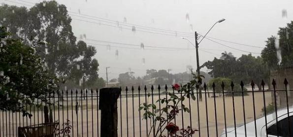 Risco de chuva forte no Espírito Santo nesta terça
