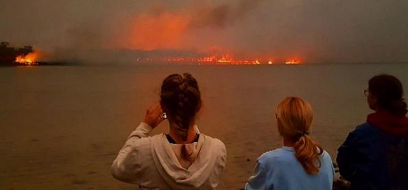 Desmatamento e clima elevam risco de incêndios