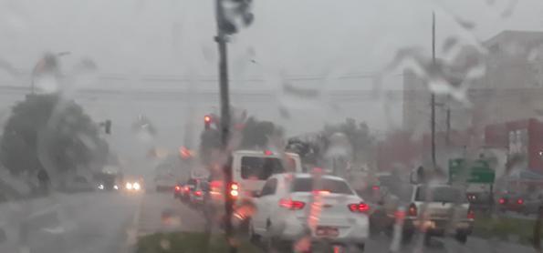 Terça-feira com pouca chuva em SP