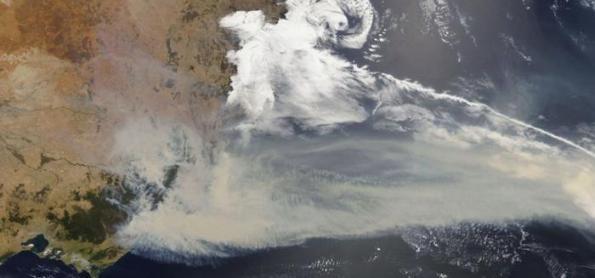 Incêndios na Austrália impulsionam níveis de CO2 na atmosfera