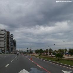 Nuvem rolo é vista em praia do ES