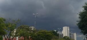 Risco de chuva forte em São Paulo nesta terça
